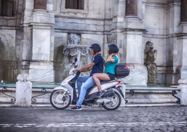 Rent a Honda Vision 110 from Easy Bike Rent Rome